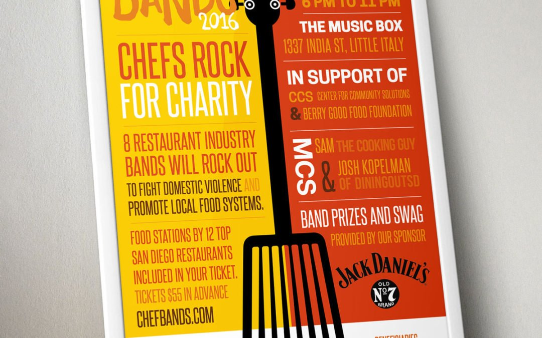 Chef Bands Poster & Website