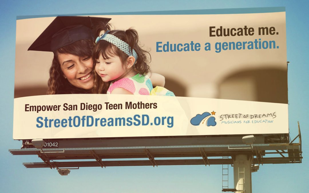 Street of Dreams billboard