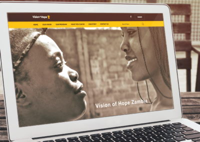 Vision of Hope Zambia Website