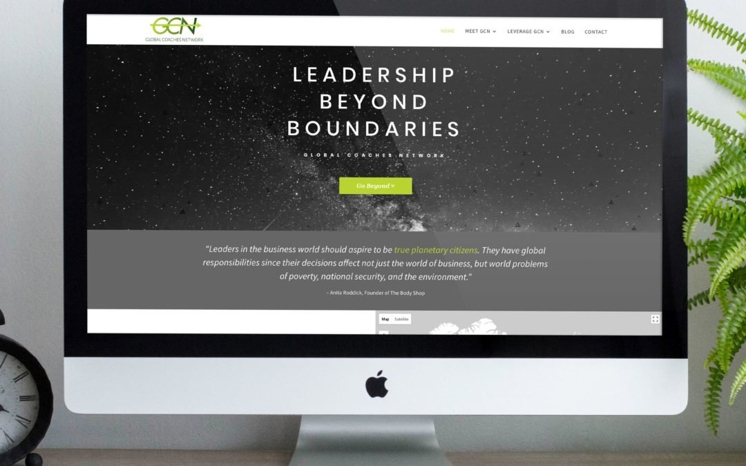 Global Coaches Network Website and Branding Redesign