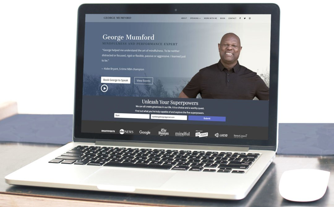 George Mumford Website Redesign