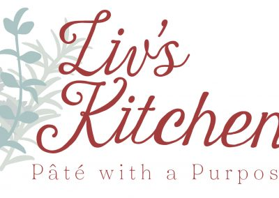 Liv's Kitchen Logo & Labels