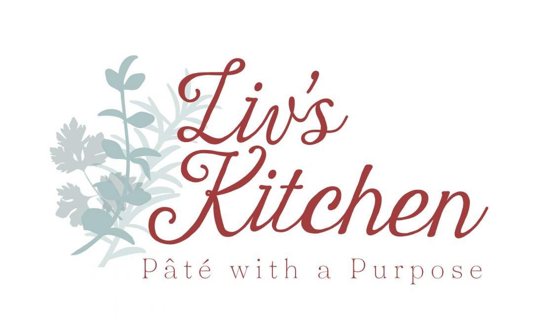 Liv's Kitchen Logo / Labels