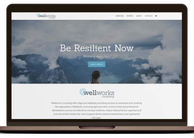 Wellworks Consulting Website Design